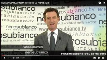 trasmissione 20 marzo 2016